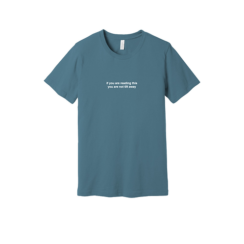 if you are reading this  Tee
