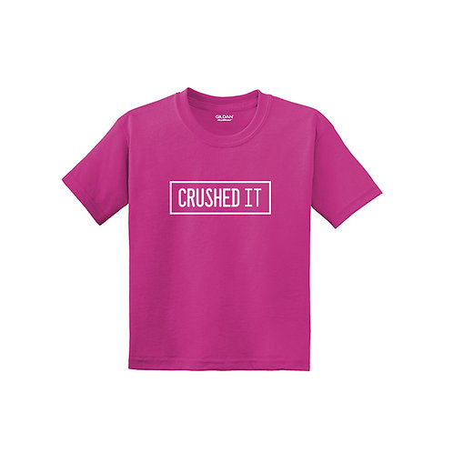 Crushed it Youth Tee