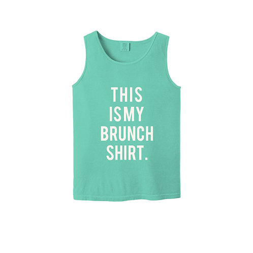 This Is My Brunch Shirt Unisex Tank