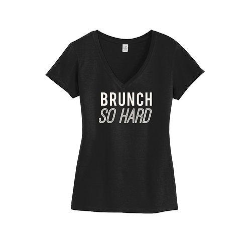 Brunch So Hard V-Neck