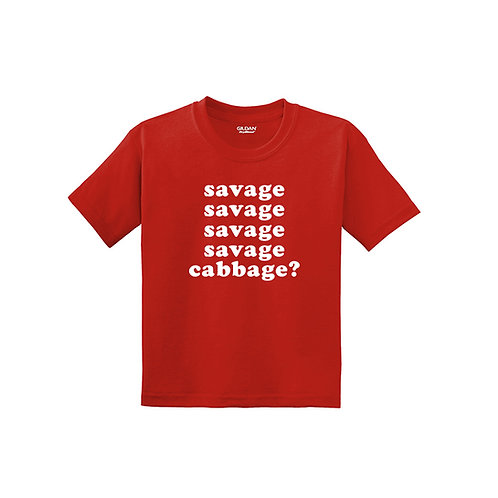 Savage Cabbage Youth Tee