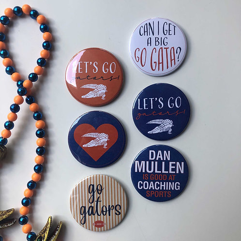 Gator Button Fan Collection