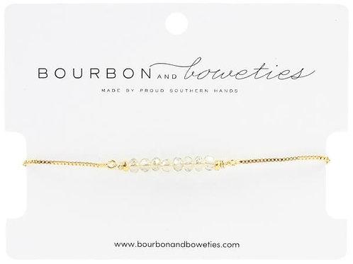 Champagne Bar Adjustable Bracelet