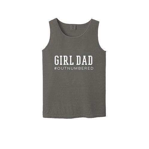 Girl Dad Unisex Tank