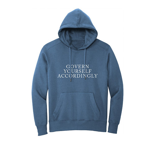 Govern Yourself Accordingly Hoodie