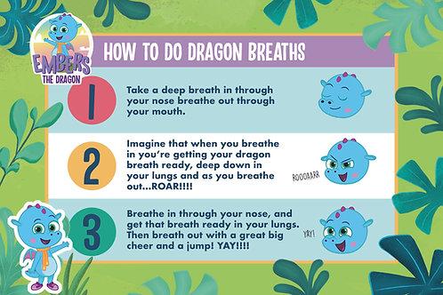 A2 Dragon Breaths Poster