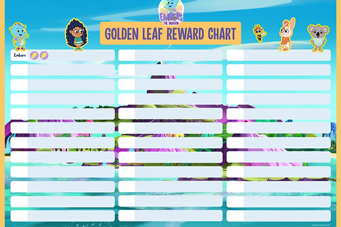 A2 Classroom Reward Chart (Includes Stickers)