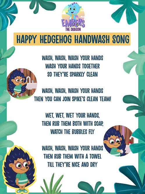 4 x Laminated Handwashing Poster