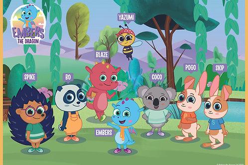 A2 Meet the Keiki Island Kids Poster