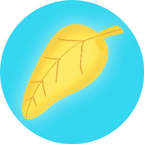 Additional Golden Leaf Stickers (100)