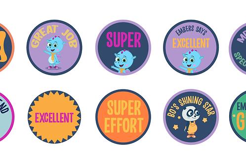 Reward Sticker Selection Pack
