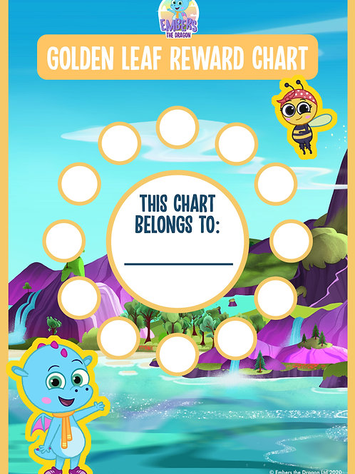 A3 Home Reward Chart (Includes Stickers)