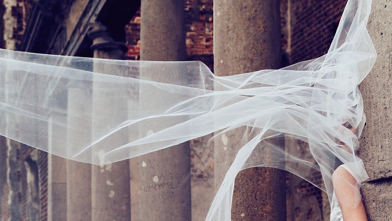 Bride, bride veil