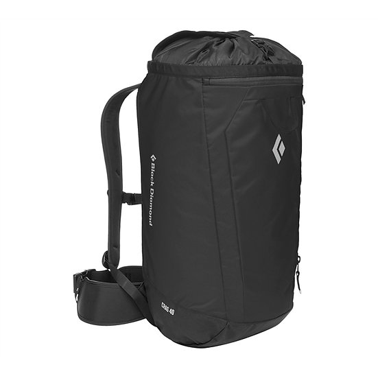BLACK DIAMOND CRAG 40 PACK – BLACK
