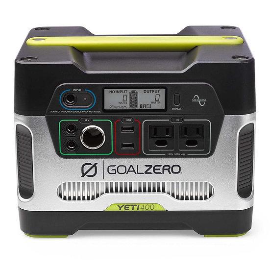 GOAL ZERO - YETI 400 PORTABLE POWER STATION