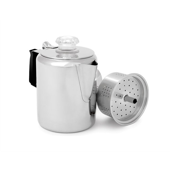 GSI OUTDOORS STAINLESS PERCOLATOR – 3CUP