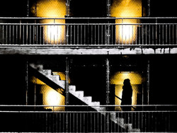 Stairs and silhouette Embrach
