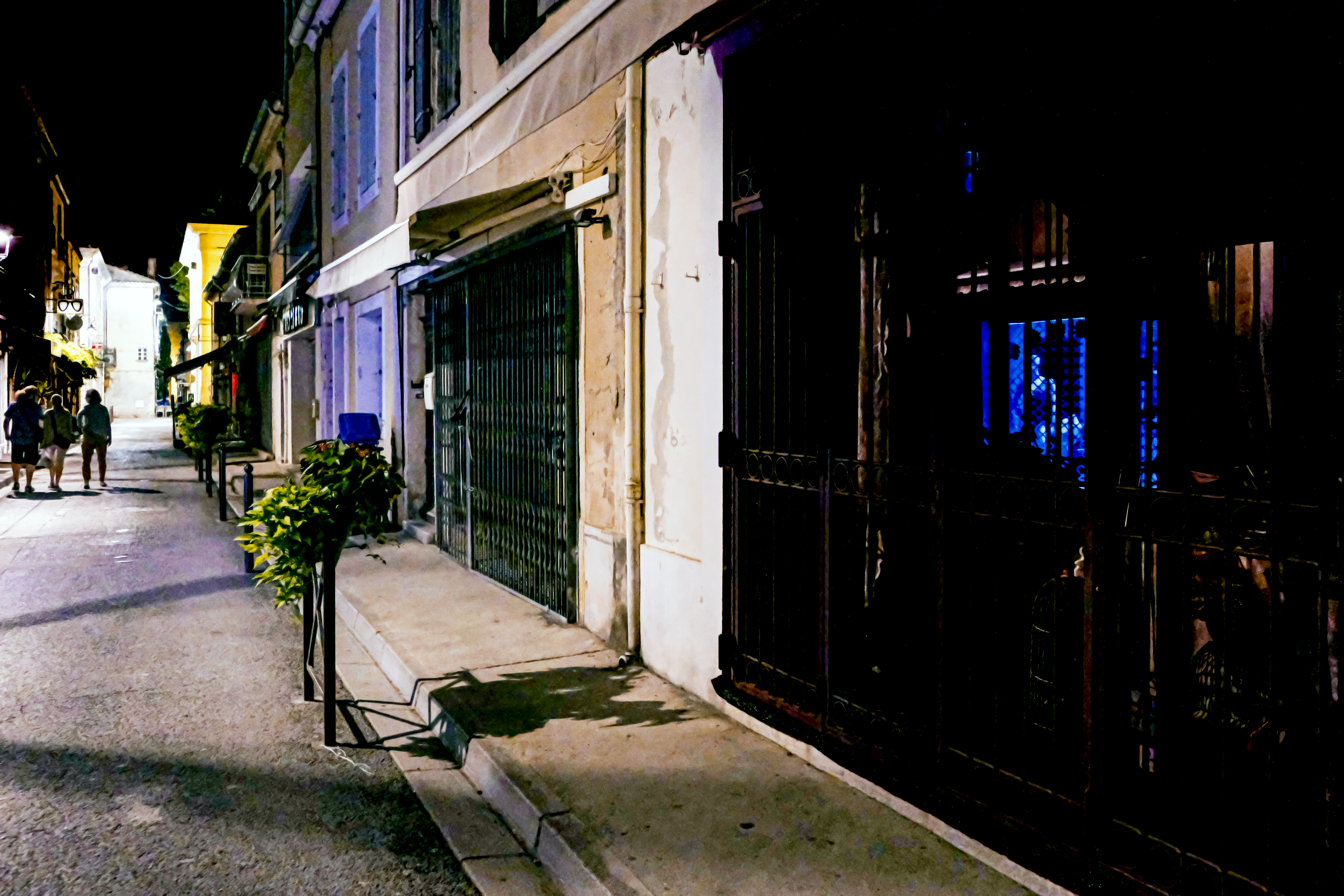 Provence by night quiet quiet quiet peac