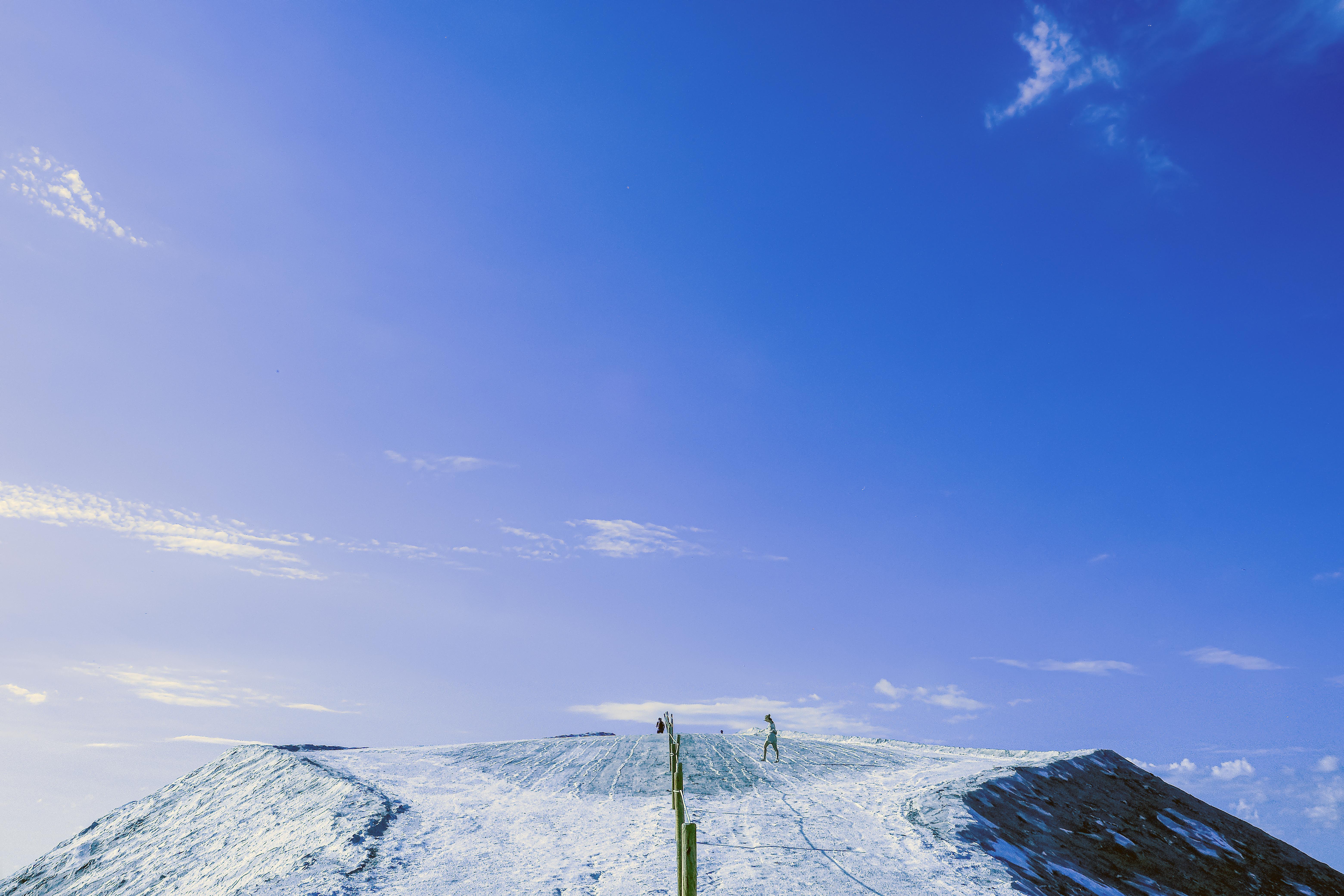 Les Salines_En haut de la montagne de se