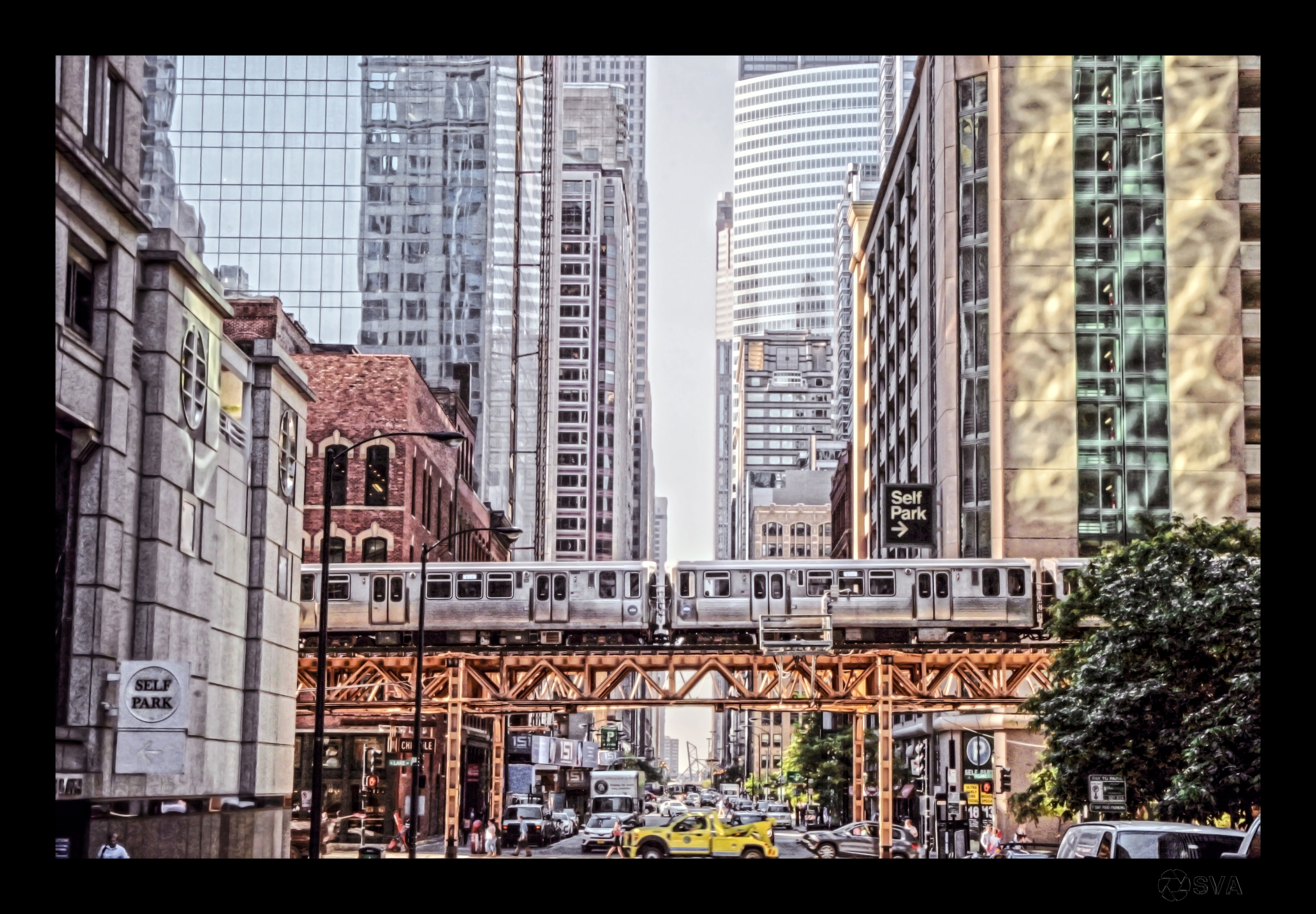Business Trip_Chicago_walking to work
