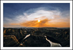 Where a new life begins_Sunset horseshoe