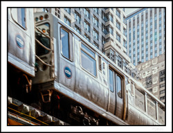 Business Trips_Chicago_Watching train passing