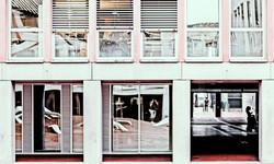 Lausanne le flon building windows