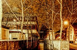 Winterthur night street