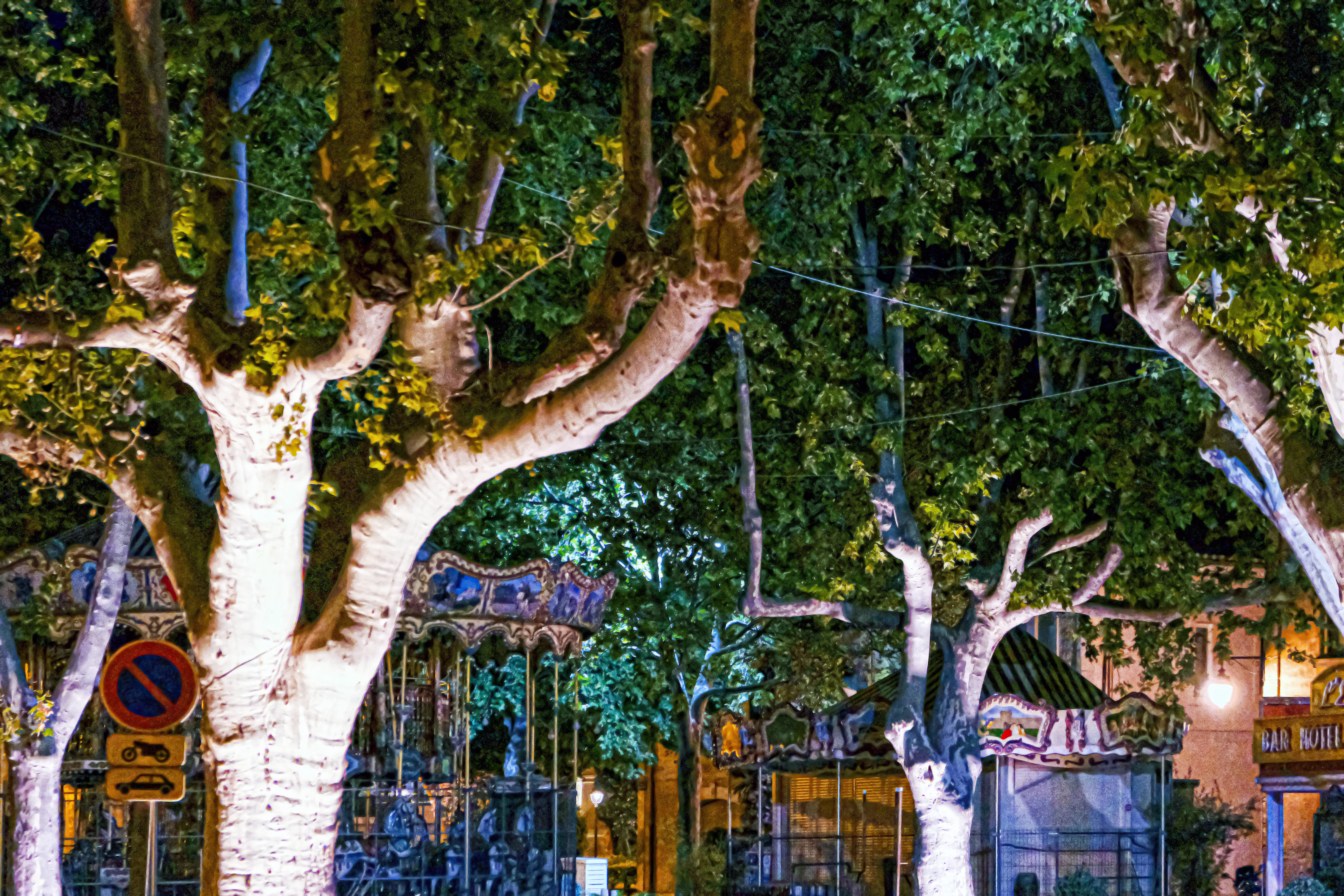 Provence_by night carousel