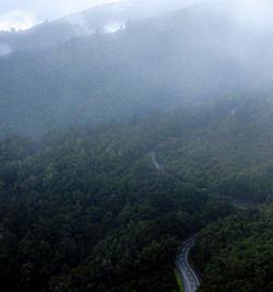 New Zealand_zigzaging clouding