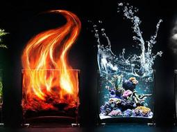 Os 4 Elementos  - 4 Forças da Natureza (em Ti) I