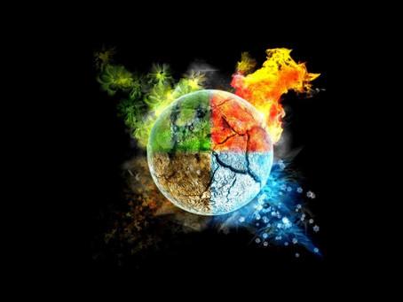 Os 4 Elementos - 4 Forças da Natureza (em ti)     II