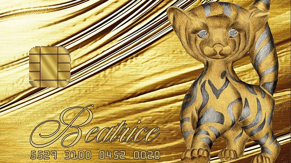 Arts of Gold 14 Carat (Diamond) Cards