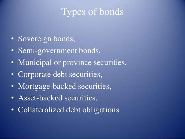 Sovereign Bond management