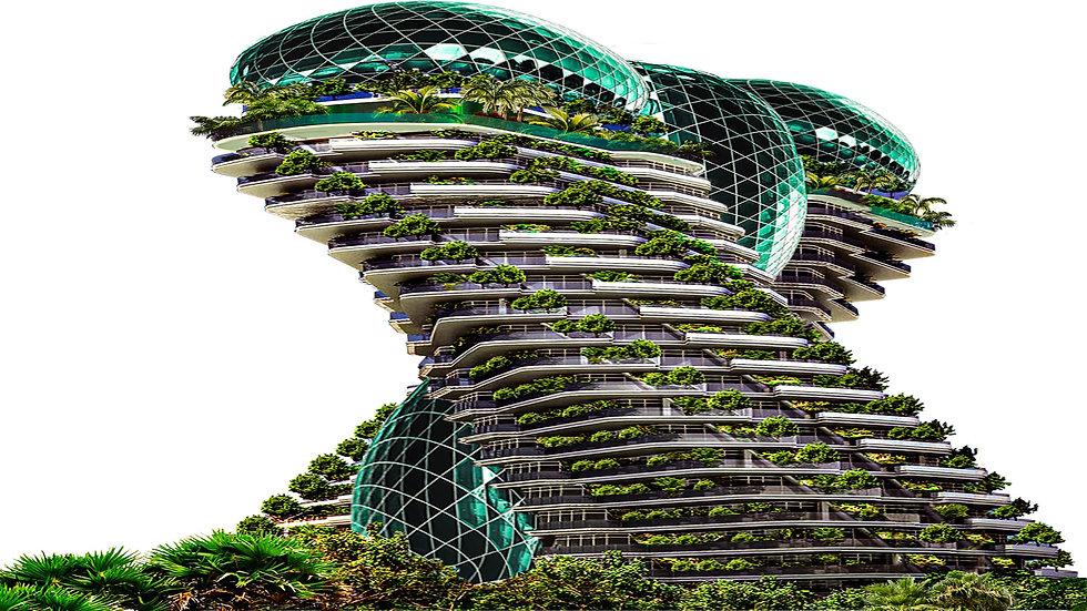 3D Printed Carbon Composite AVIS Tower