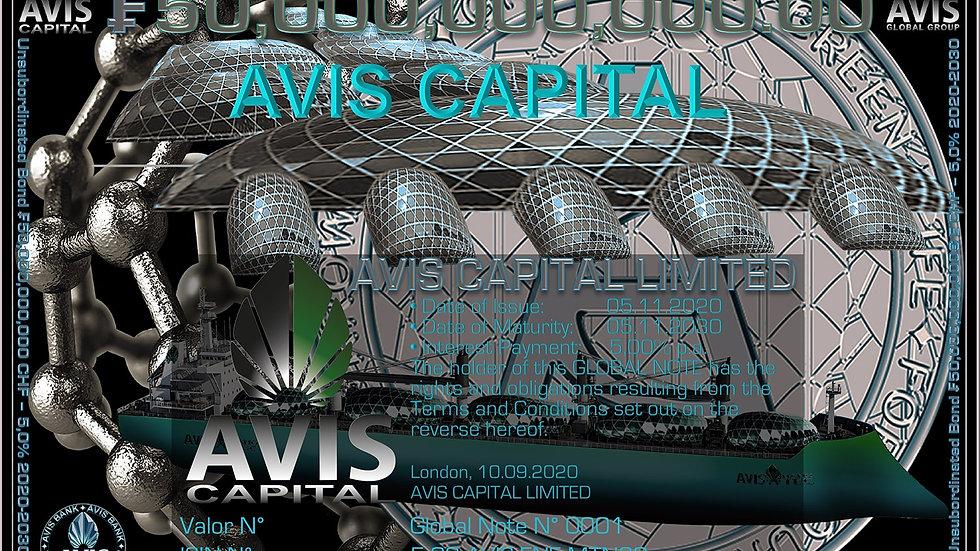 AVIS Capital CHF MTN5 2030 Green Bond