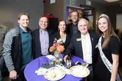 Mayor Sam, Councilmen Ed, and guests