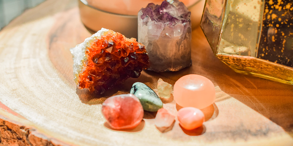Healing with Crystals Workshop 1.