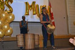 AlphaRoots drummers