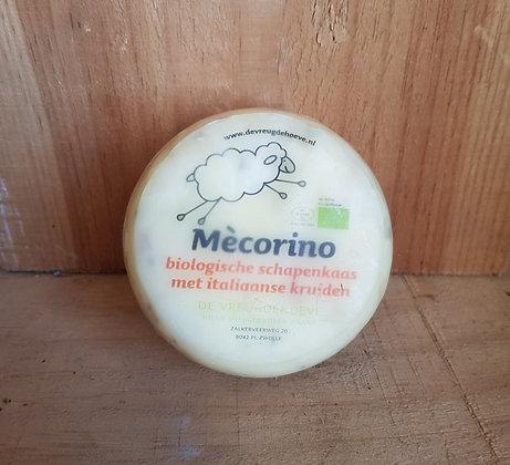 Biologische mècorino met itiliaanse kruiden  (schapenkaas)
