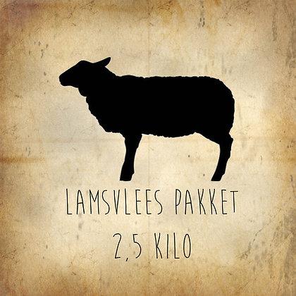 Lamsvlees pakket