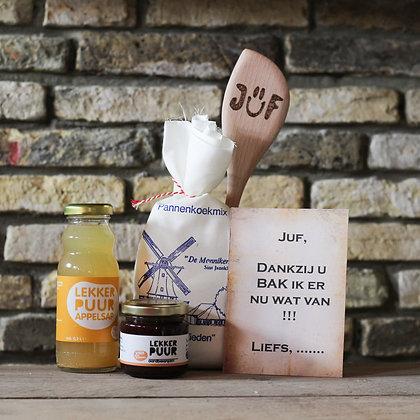 Pannenkoeken pakket - juf