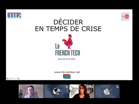 "Webinar French Tech Covid-19: ""Décider dans l'incertitude"""