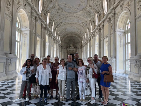 14-16.06.2019 Gita di fine anno a Torino, Venaria Reale e Rocca di San Michele