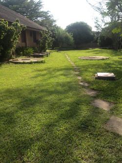 Un site verdoyant