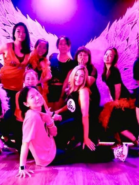 Four Years for Fit + Flaunt Burlesque Fitness!