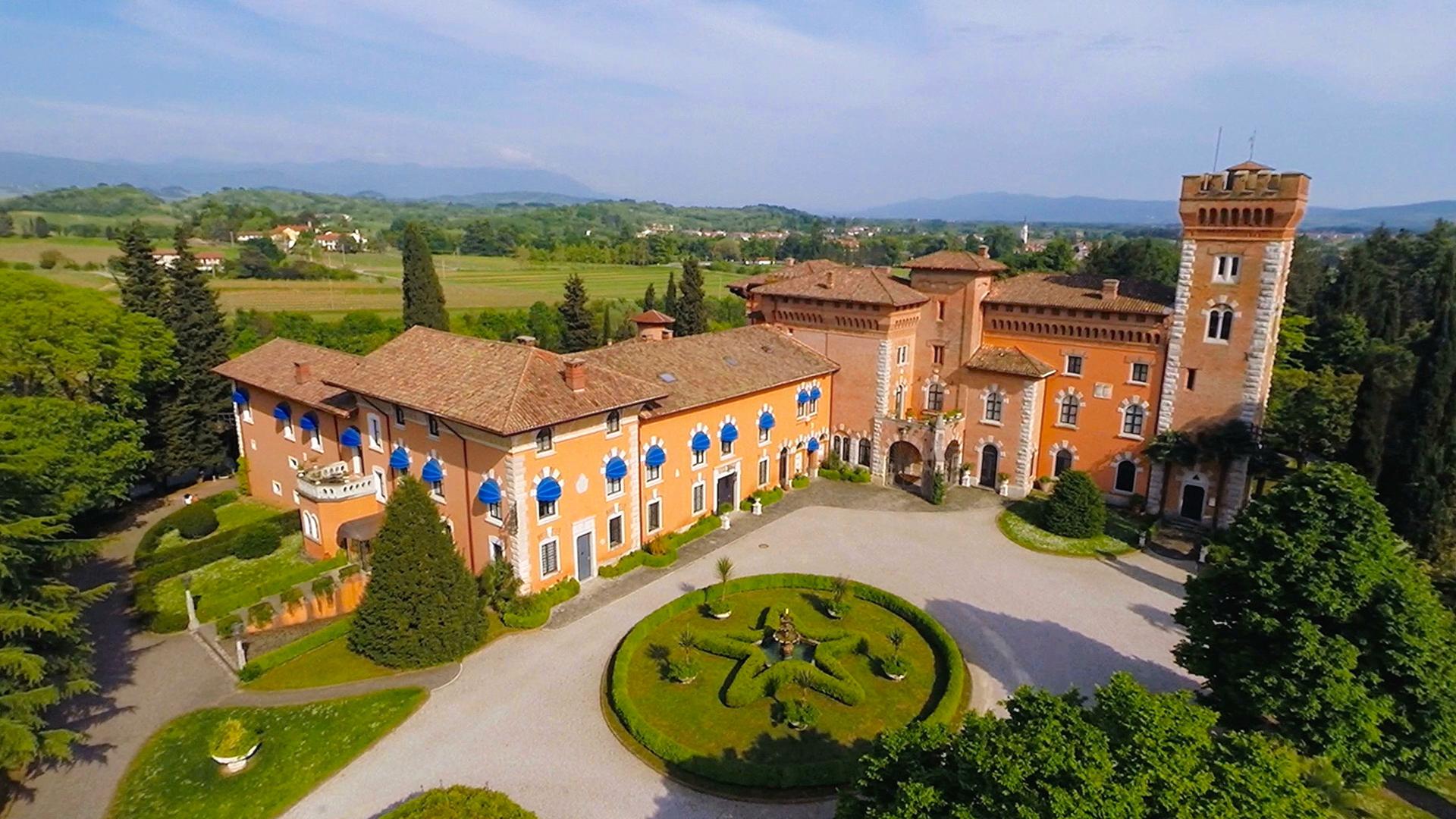Castello di Spessa - Drone Reportage1