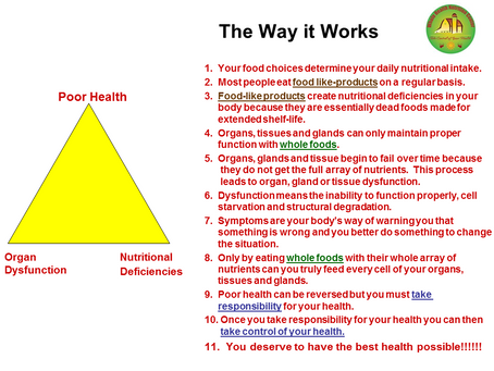 How Nutrition Works
