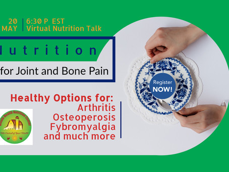 Nutrition for Bone and Joint Health