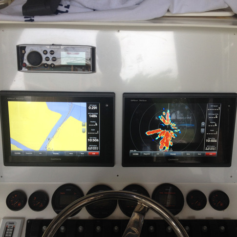 Garmin/Fusion Install. Panel by McGonigal